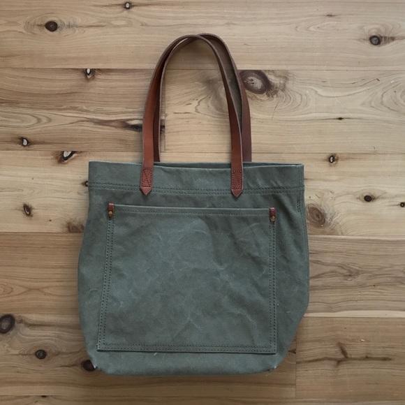 aaa87a27c Madewell Handbags - MADEWELL canvas medium transport tote